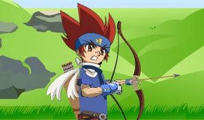 Beyblade Archery Bloons