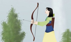 Mulan Bow and Arrow