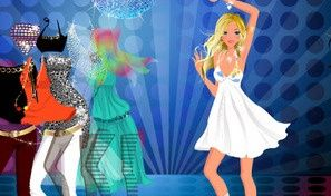Original game title: Disco Queen Dress-Up