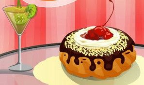 Original game title: Creamy Donut Decoration