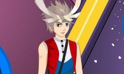 Pokemon Cilan Dress Up