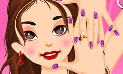 Barbie Trendy Nail Designs