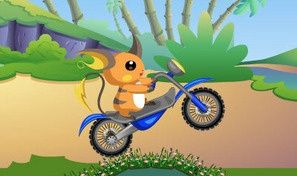 Original game title: Pokemon Bike Adventure