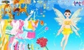 Yellow Fairy Dress Up