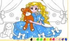 Original game title: Teddybear Girl Coloring
