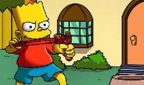 Original game title: Simpsons Slingshot