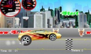 Original game title: Wheelie Car