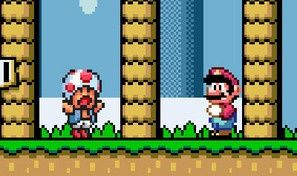 Original game title: Monoliths Marioworld