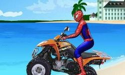 4x4 de Plage Spiderman