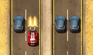 Original game title: Burnin' Rubber
