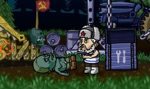 Original game title: Zombies Ate My Motherland