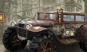 Steam Punk Truck Race