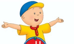 Caillou: Rotate Puzzle