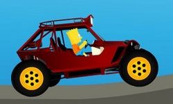 Bart Simpson Buggy Car