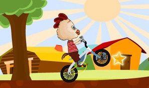 Original game title: Farm Biker