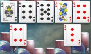 Original game title: Galactic Odyssey Solitaire