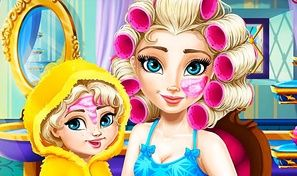 Elsa Mommy Real Makeover