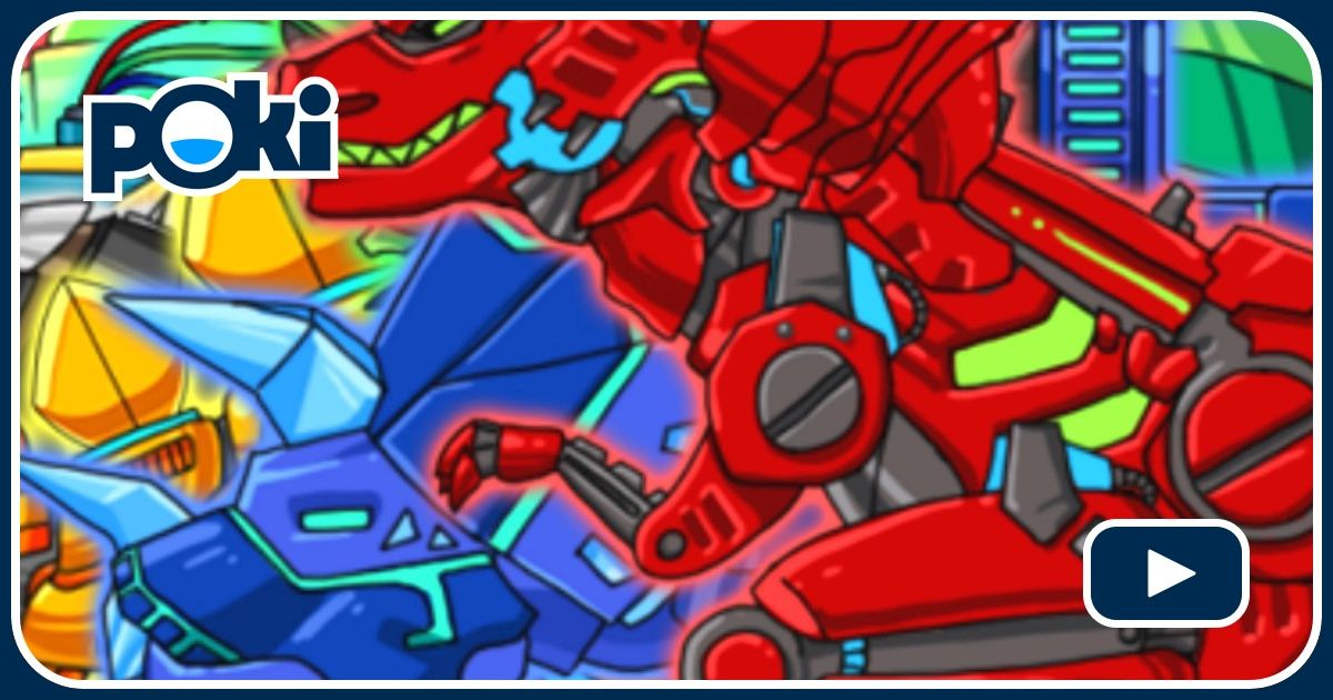 Dino Roboter Spiele