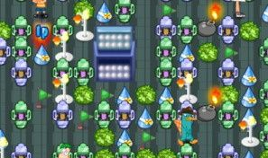 Phineas and Ferb Bomberman