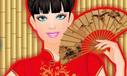 Barbie in China Makeover