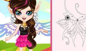 Rainbow Fairy Tattoo Artist