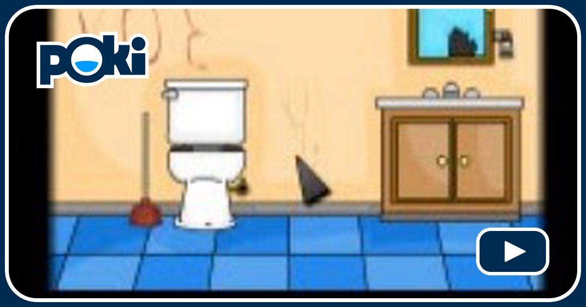 Jogo Do Banheiro Voador No Friv : Fuga do banheiro jogue gr?tis no poki