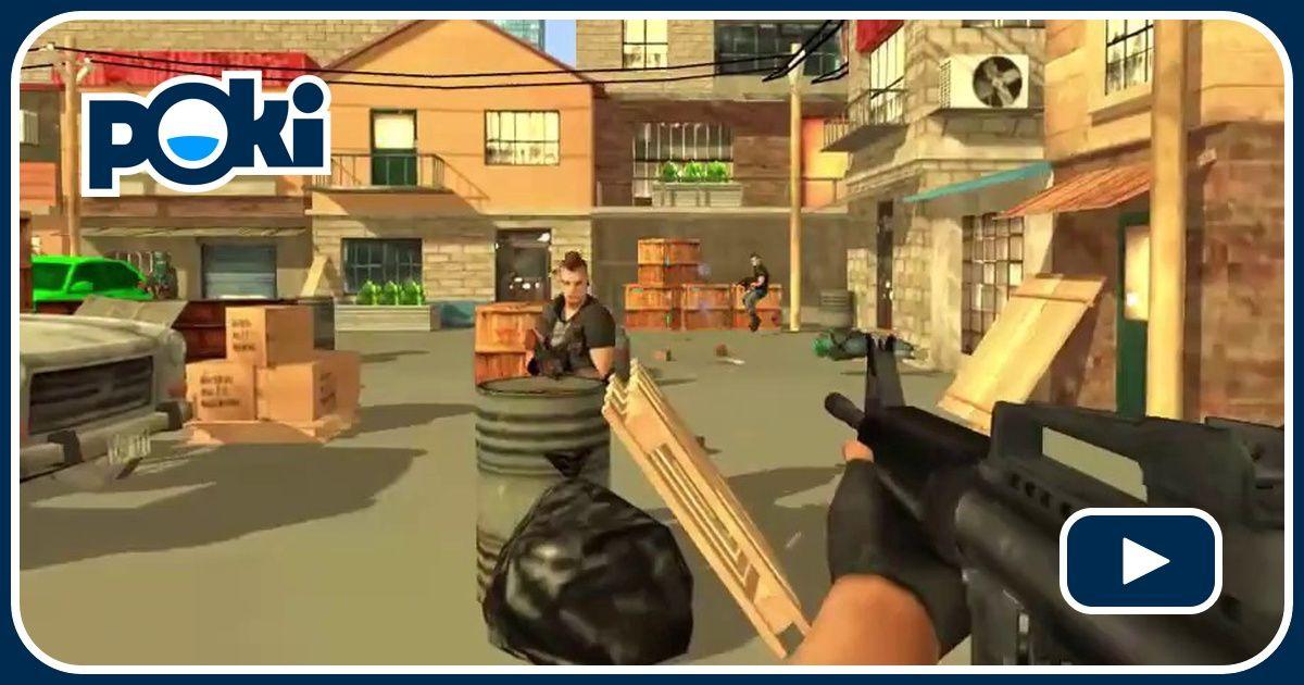 Armed Forces vs Gangs Game - Shooting Games - GamesFreak