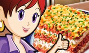 Original game title: Sara's Cooking Class: Lasagna