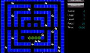 Original game title: Snake Rabbit