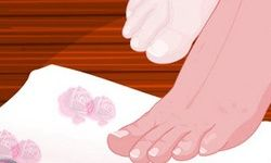 Luxury Spa Nail Pedicure