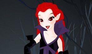 Vampiress Dress Up