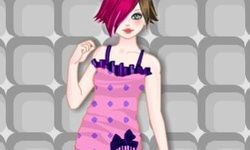 Kawaii Emo Girl Dress-Up