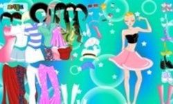 Bubble Stars Dress Up