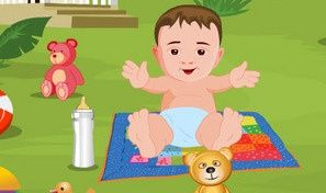 Baby Outdoor Bathing