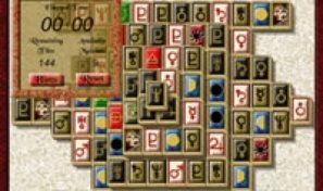 Original game title: Mahjongg Key
