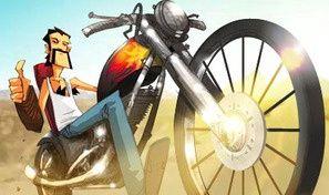 Original game title: Tricky Rider