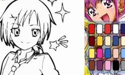 Colorear a la Glitter Force
