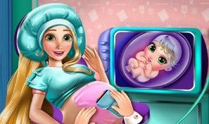 Original game title: Rapunzel Pregnant Check-Up