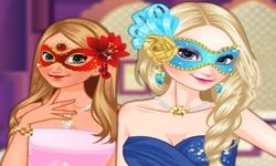Frozen Sisters Masquerade Ball