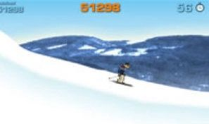 Original game title: Ski Tricks