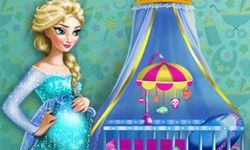 Pregnant Elsa Maternity Deco