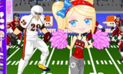 Football Cheerleader Dress Up