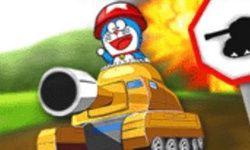 Doraemon Lái Xe Tăng