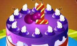 Dekorasi Kue Ulang Tahun Pertama