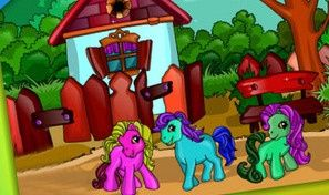 Pony Coloring Game