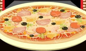 Original game title: NY Pizza Decoration