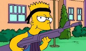 Simpsons Bart Rulez