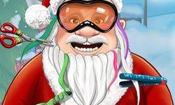 Corte de Cabelo do Papai Noel