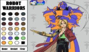 Robot Warriors Color Me