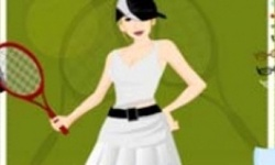 Peppy Tennis Girl